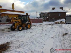 Уборка снега, планирование пятна застройки.