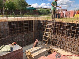 Высота стен цоколя — 2300 см.